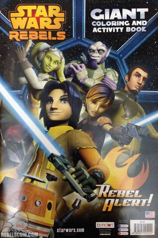 Star Wars Rebels: Rebel Alert! Coloring Book