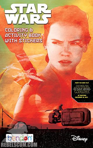 Star Wars: Resistance [Rey] Coloring Book