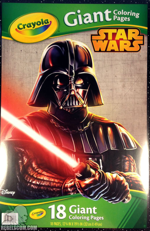 Star Wars: Crayola Giant Coloring Pages