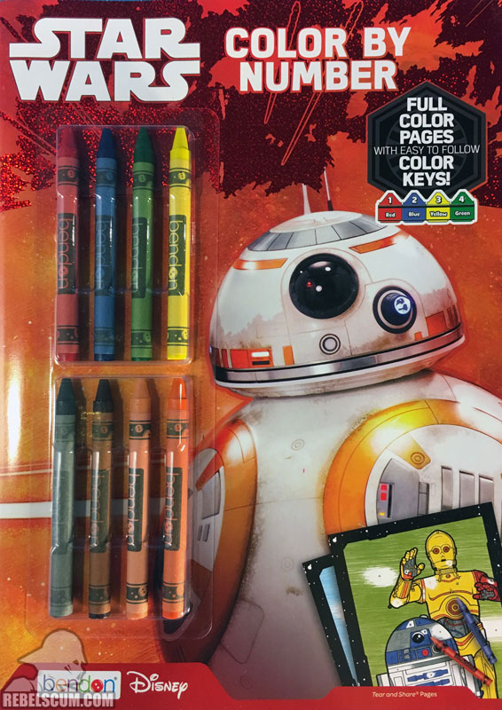 Star Wars: Color By Number