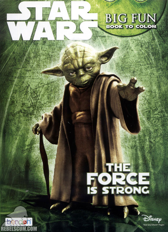 Star Wars: The Force is Strong Coloring Book