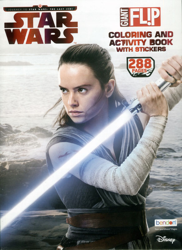 Star Wars: Giant Flip Coloring and Activity Book with Stickers