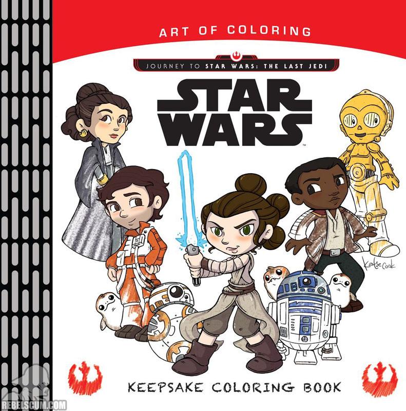 Star Wars: Art of Coloring Keepsake Coloring Book