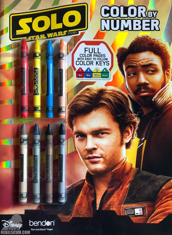Solo: A Star Wars Story – Color By Number