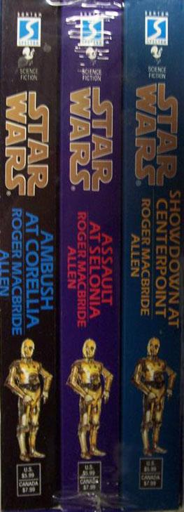 Corellian Trilogy Boxed Set Books