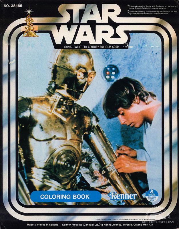 Star Wars: C-3PO & Luke Coloring Book
