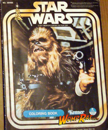 Star Wars: Chewbacca Coloring Book
