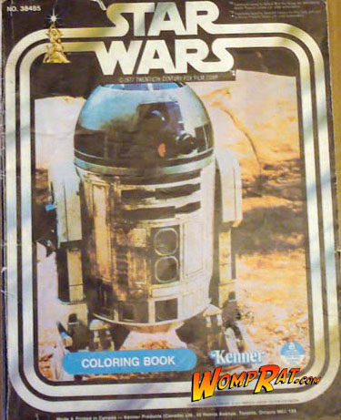 Star Wars: R2-D2 Coloring Book