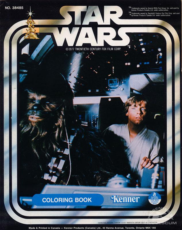 Star Wars: Chewbacca & Luke Coloring Book