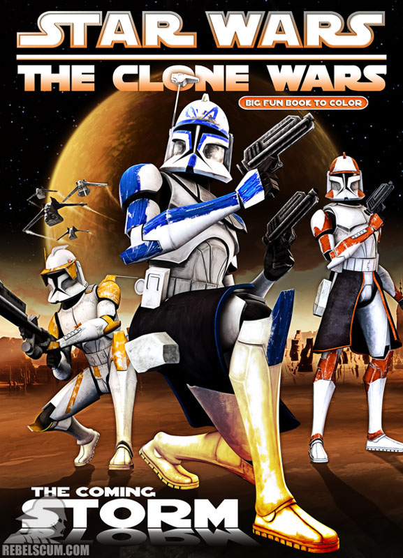 Star Wars: The Clone Wars – The Coming Storm Coloring Book