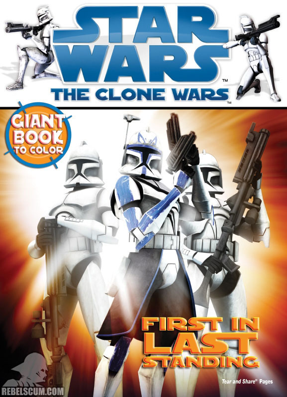 Star Wars: The Clone Wars – First In Last Standing Coloring Book
