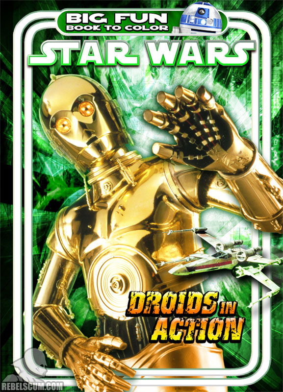 Star Wars: Droids in Action Coloring Book
