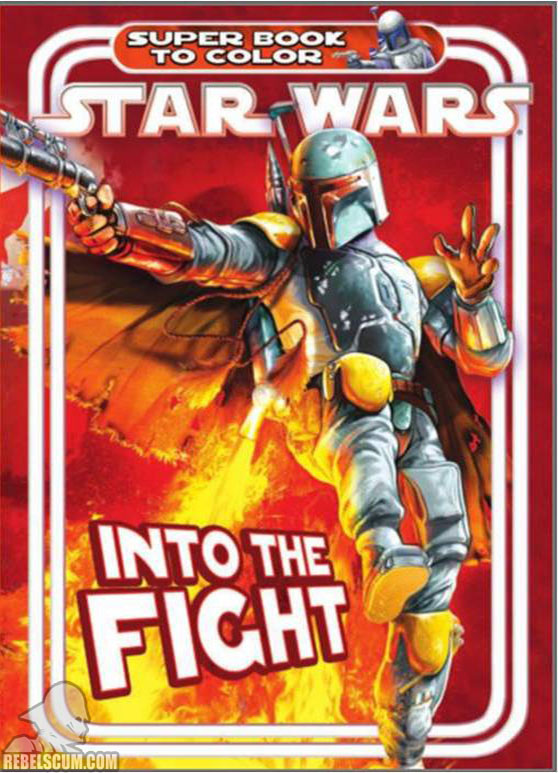 Star Wars: Into the Fight Coloring Book