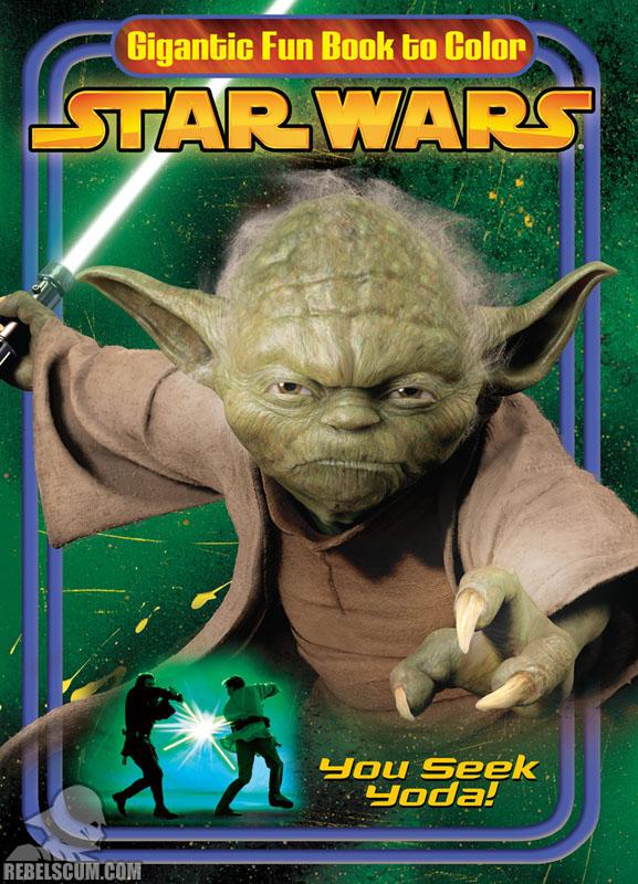 Star Wars: You Seek Yoda Coloring Book