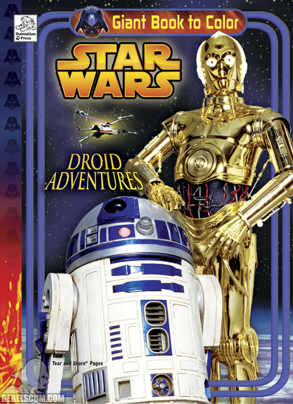 Star Wars: Droid Adventures Coloring Book