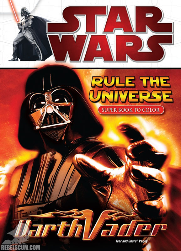 Star Wars: Rule The Universe Coloring Book
