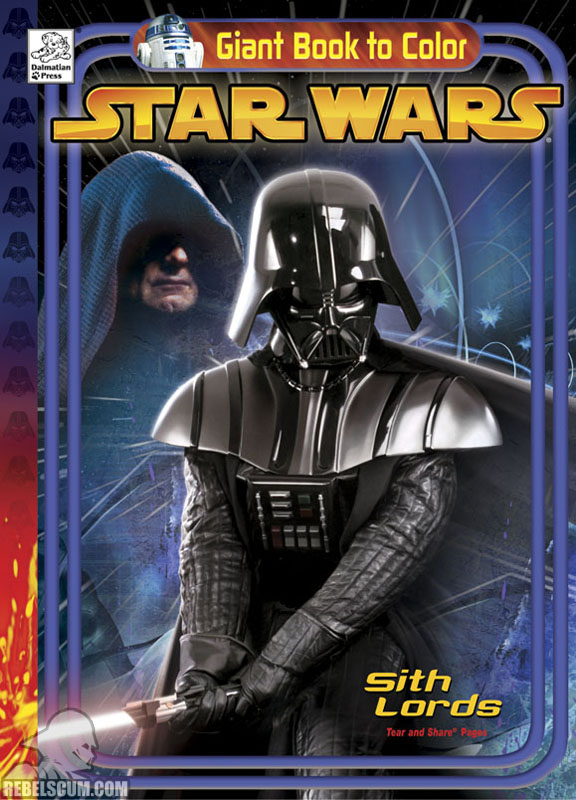 Star Wars: Sith Lords Coloring Book