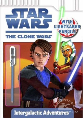 Star Wars: The Clone Wars – Intergalactic Adventure Book
