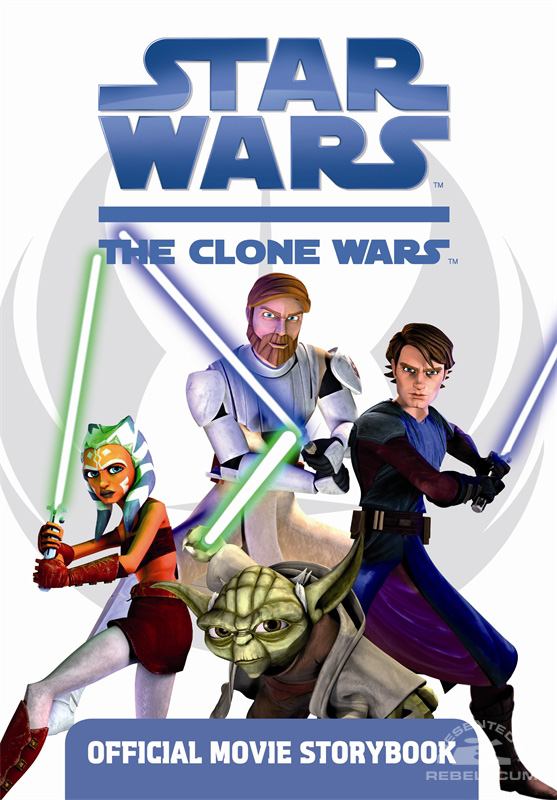 Star Wars: The Clone Wars – Official Movie Storybook
