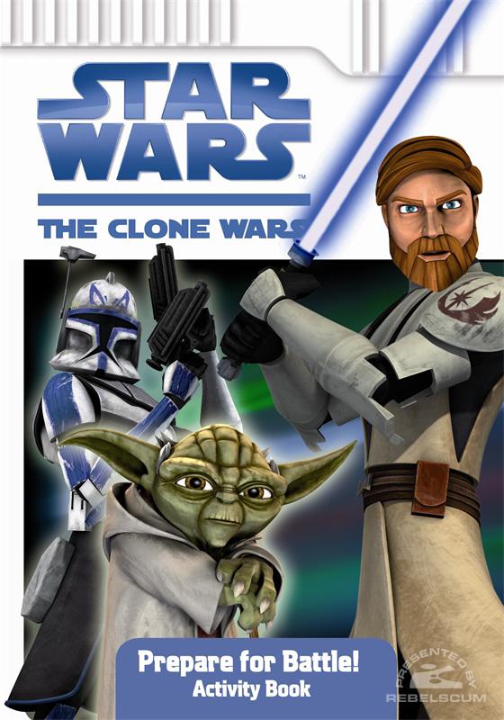 Star Wars: The Clone Wars – Prepare for Battle! Activity Book