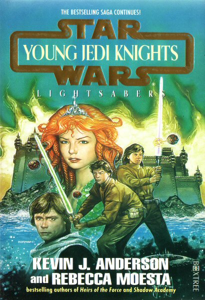 Star Wars: Young Jedi Knights #4 – Lightsabers