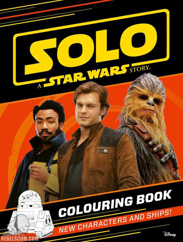 Solo: Colouring Book