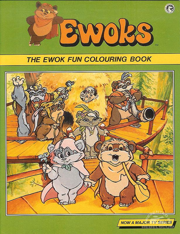 Ewoks: The Ewok Fun Colouring Book