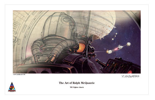 Ralph McQuarrie, No price listed, Limited to 125