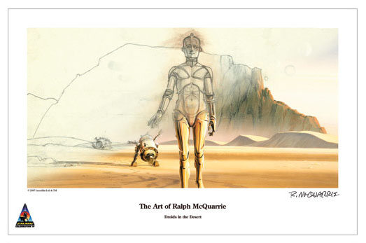 Ralph McQuarrie, $30, Limited to 125