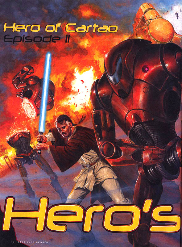The Hero of Cartao Episode II: Hero's Rise by Timothy Zahn and Douglas Chaffee