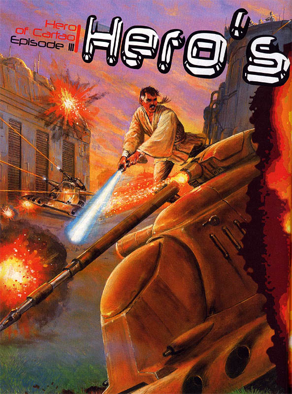 The Hero of Cartao Episode III: Hero's End by Timothy Zahn and Douglas Chaffee