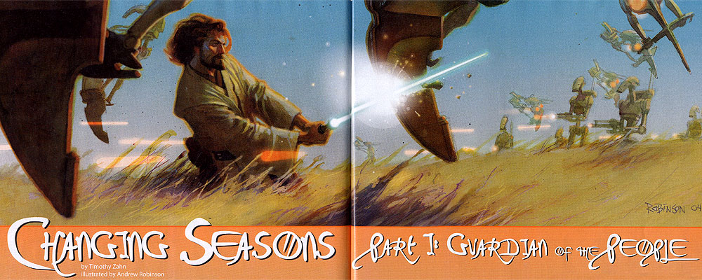 Changing Seasons I: Guardian of the People by Timothy Zahn and Andrew Robinson