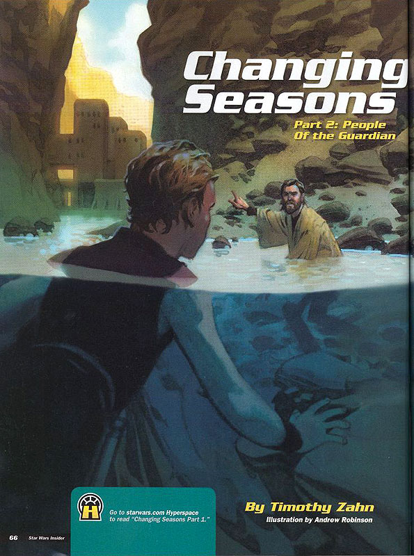 Changing Seasons II: People of the Guardian by Timothy Zahn and Andrew Robinson