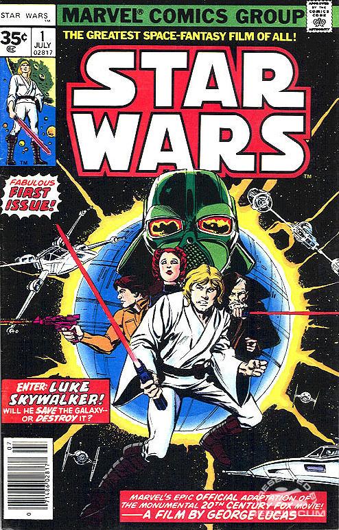 Marvel Star Wars 1 (35¢ newsstand variant)
