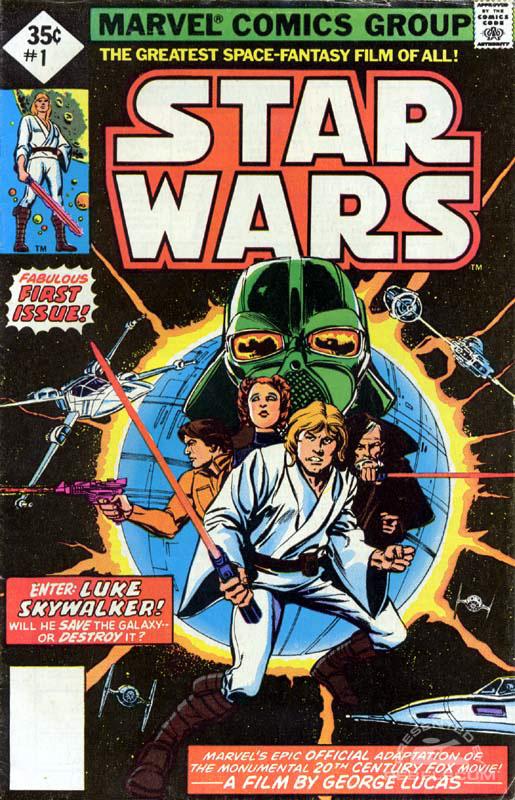 Marvel Star Wars 1 (35¢ direct market)