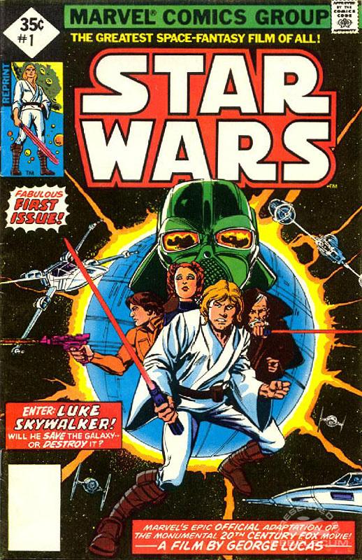 Marvel Star Wars 1 (35¢ direct market reprint)