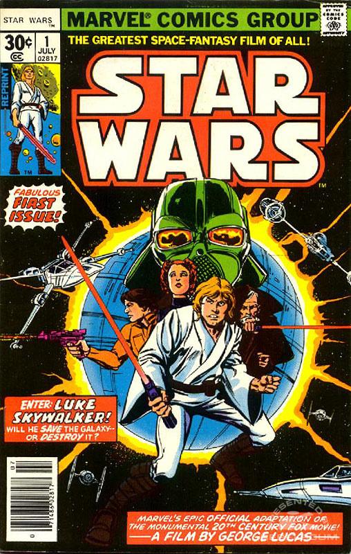 Marvel Star Wars 1 (30¢ newsstand reprint)
