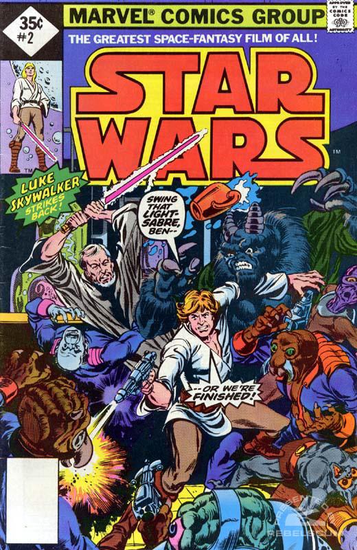 Star Wars (Marvel) 2 (direct market edition; 35¢ variant)