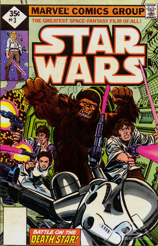 Star Wars (Marvel) 3 (direct market edition; 35¢ variant)