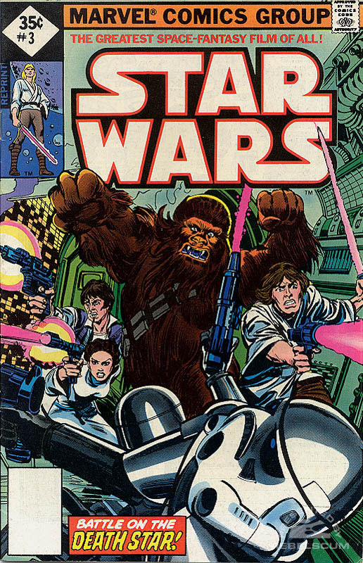 Star Wars (Marvel) 3 (direct market reprint; 35¢ variant)