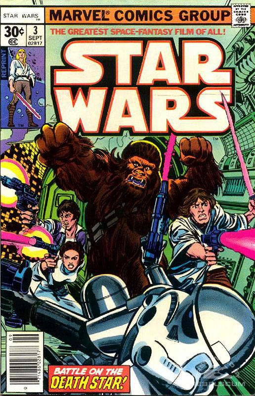 Star Wars (Marvel) 3 (newsstand reprint)
