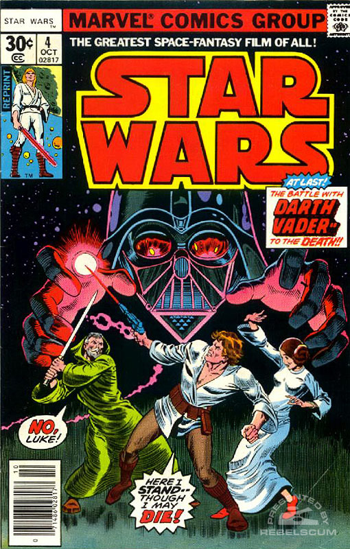Star Wars (Marvel) 4 (newsstand reprint)