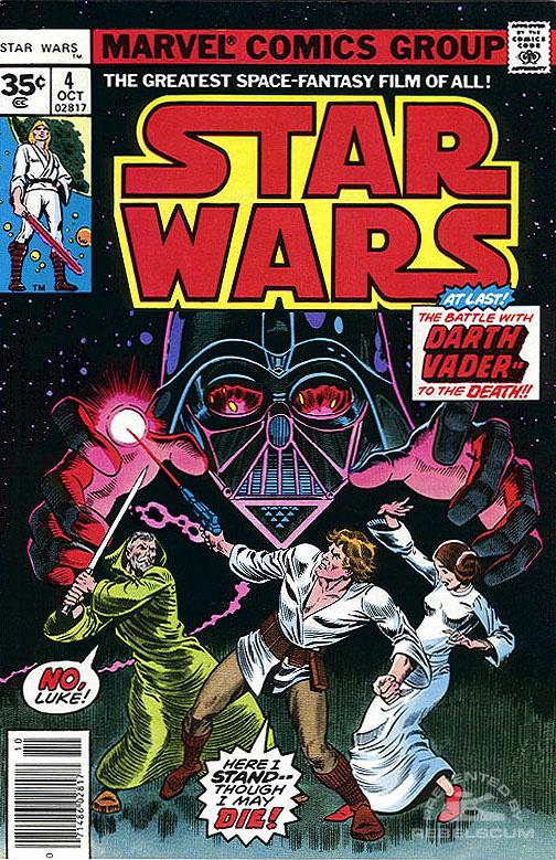 Star Wars (Marvel) 4 (newsstand edition; 35¢ variant)