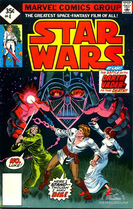 Star Wars (Marvel) 4 (direct market edition; 35¢ variant)