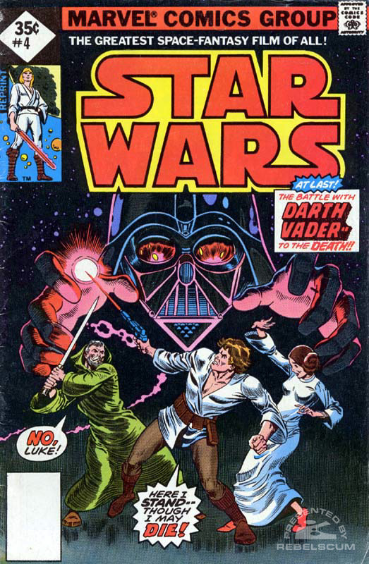 Star Wars (Marvel) 4 (direct market reprint; 35¢ variant)