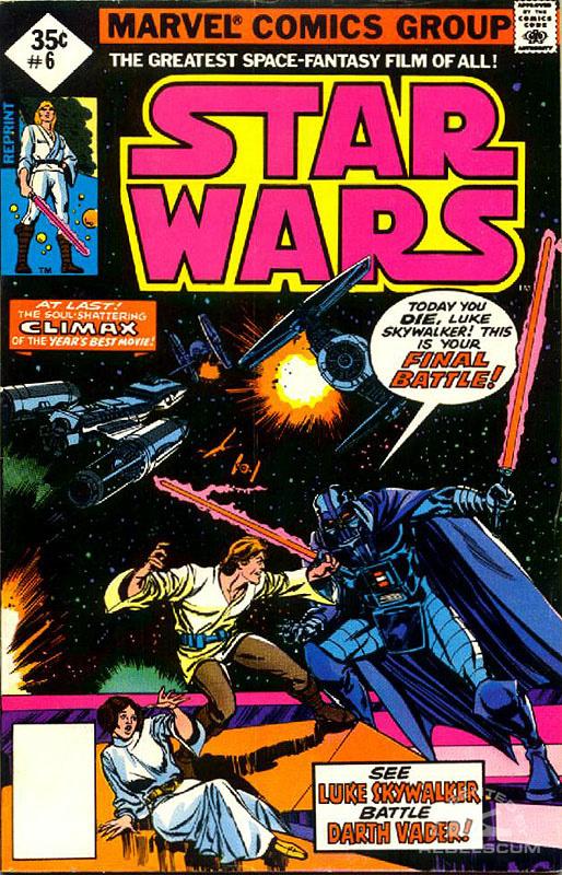 Star Wars (Marvel) 6 (direct market reprint)