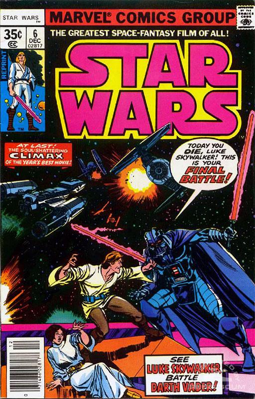 Star Wars (Marvel) 6 (newsstand reprint)