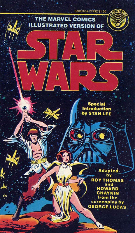 Marvel Comics Illustrated Version of Star Wars