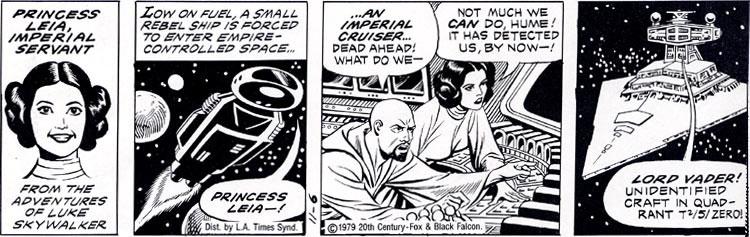 Princess Leia, Imperial Servant #5