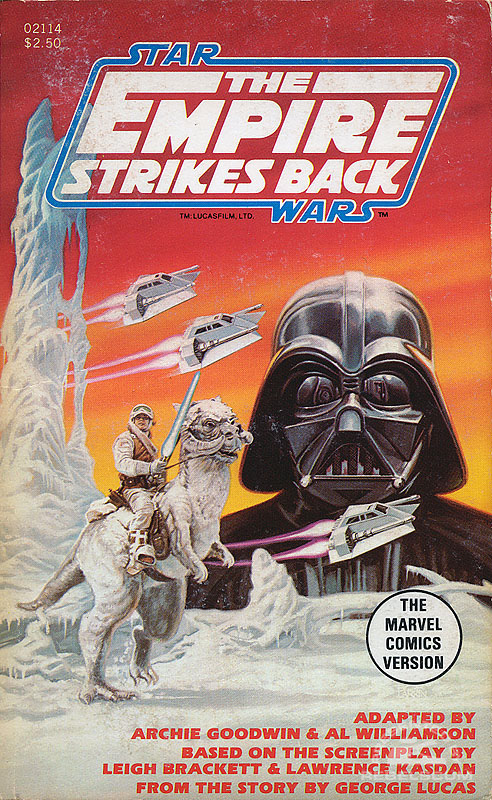Marvel Comics Illustrated Version of The Empire Strikes Back